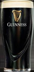 Guinness Pint Black Front