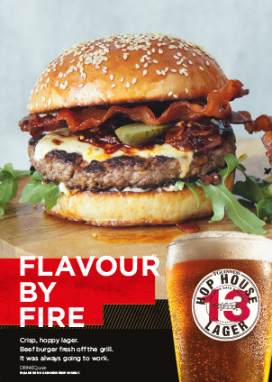 Flavour by Fire Burger