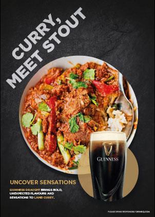 Curry, meet stout
