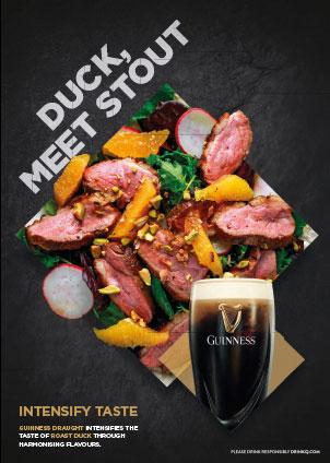 Duck, meet stout