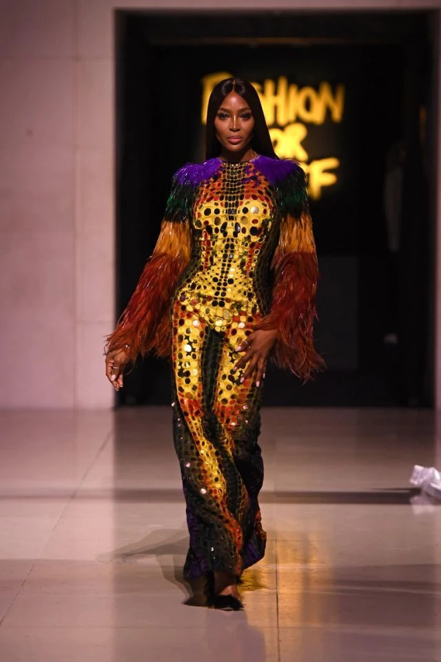 Naomi Campbell's Fashion For Relief Gala Hero