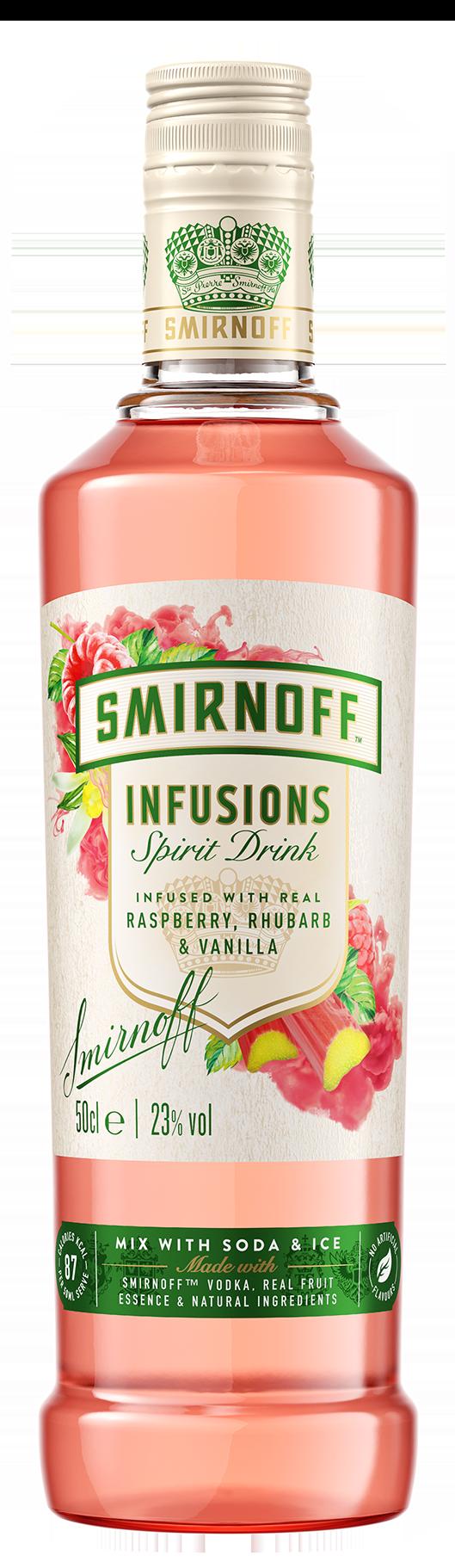 Smirnoff Infusions Raspberry & Rhubarb