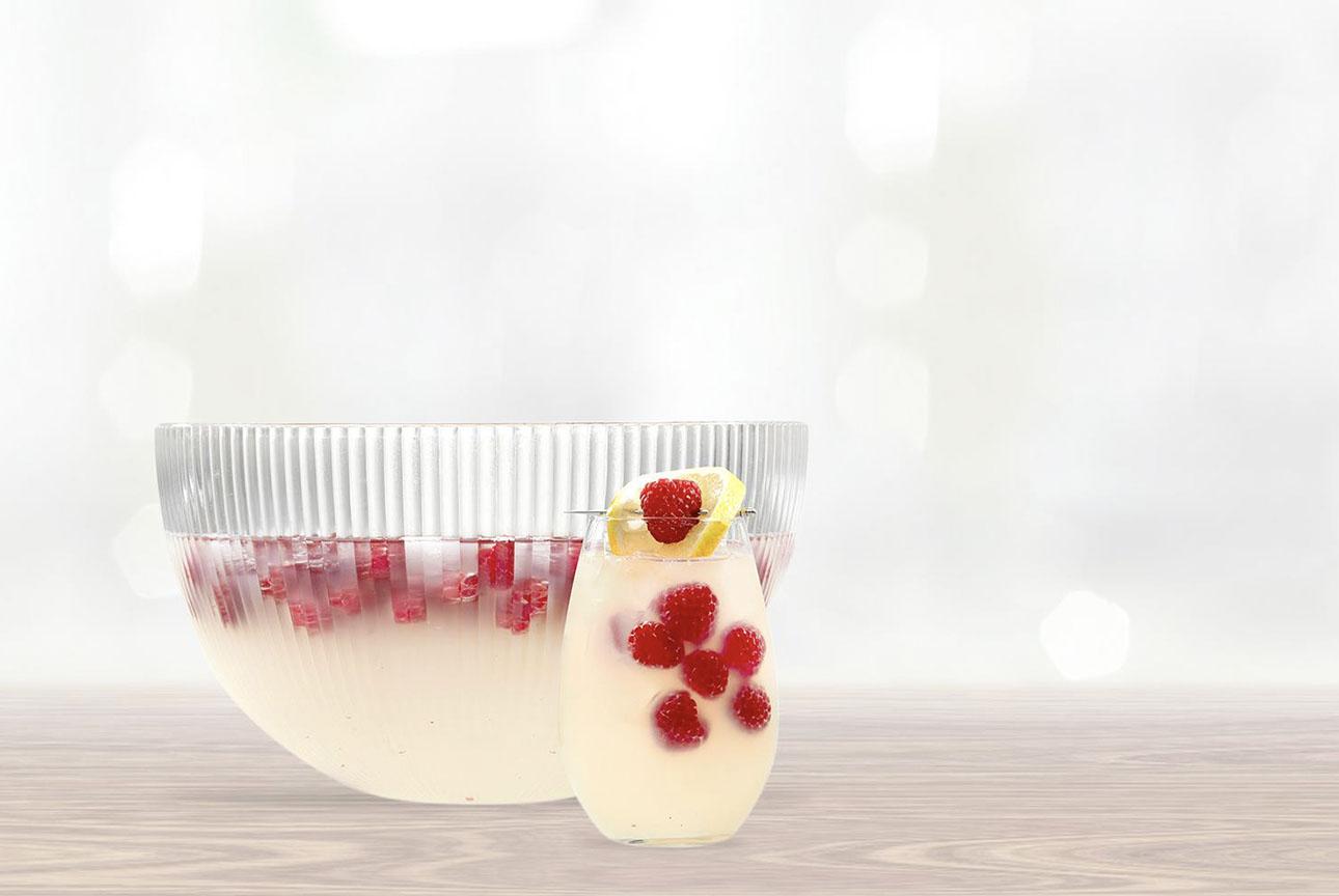 Light Raspberry Lemon Punch