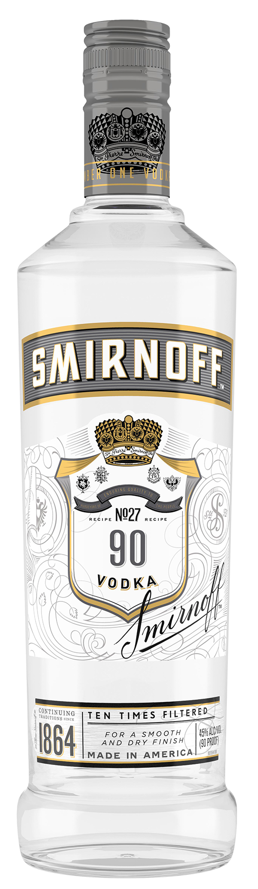 SMIRNOFF 90 PROOF VODKA