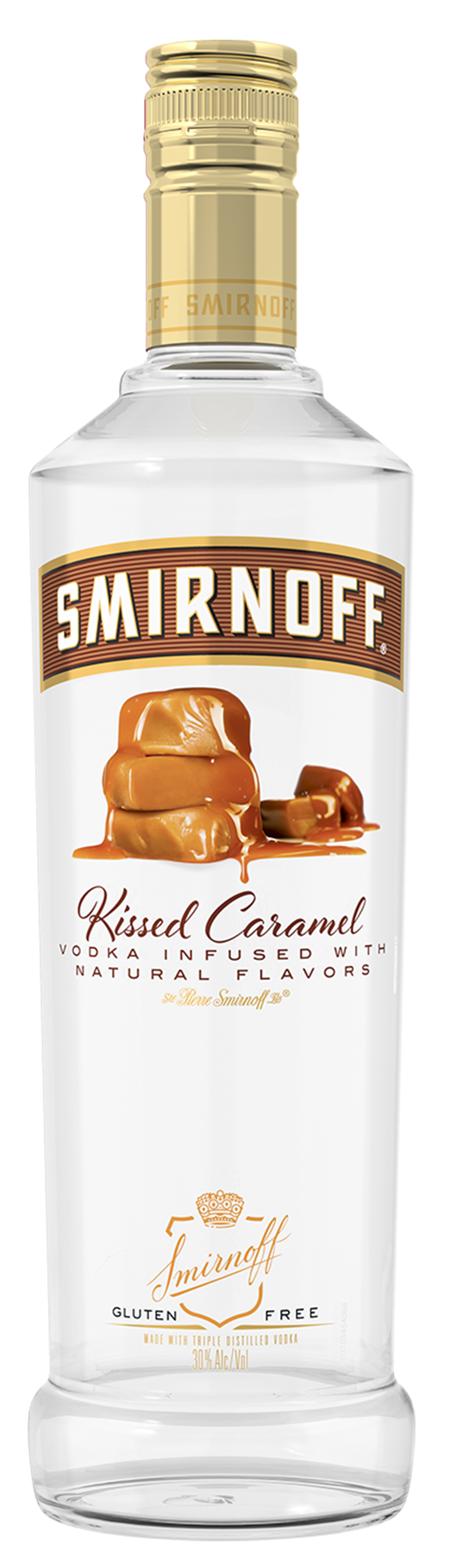SMIRNOFF KISSED CARAMEL