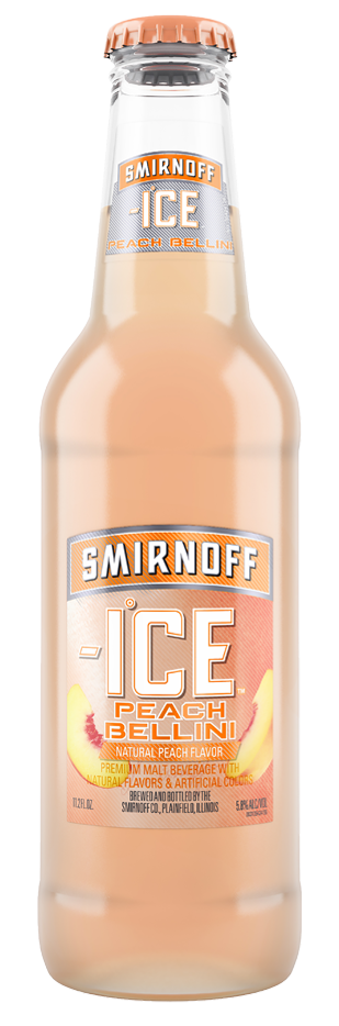 SMIRNOFF ICE PEACH BELLINI