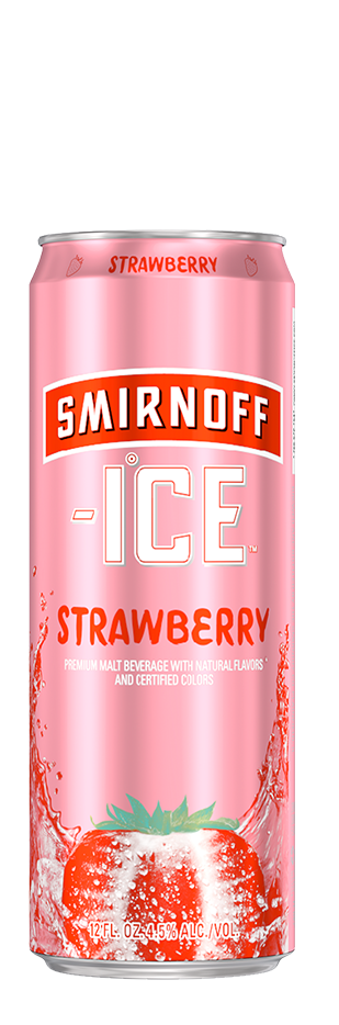 SMIRNOFF ICE STRAWBERRY CAN
