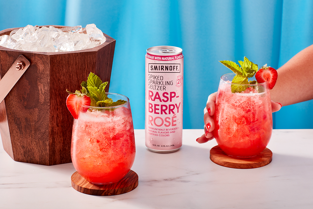 Smirnoff Seltzer Berry Julep