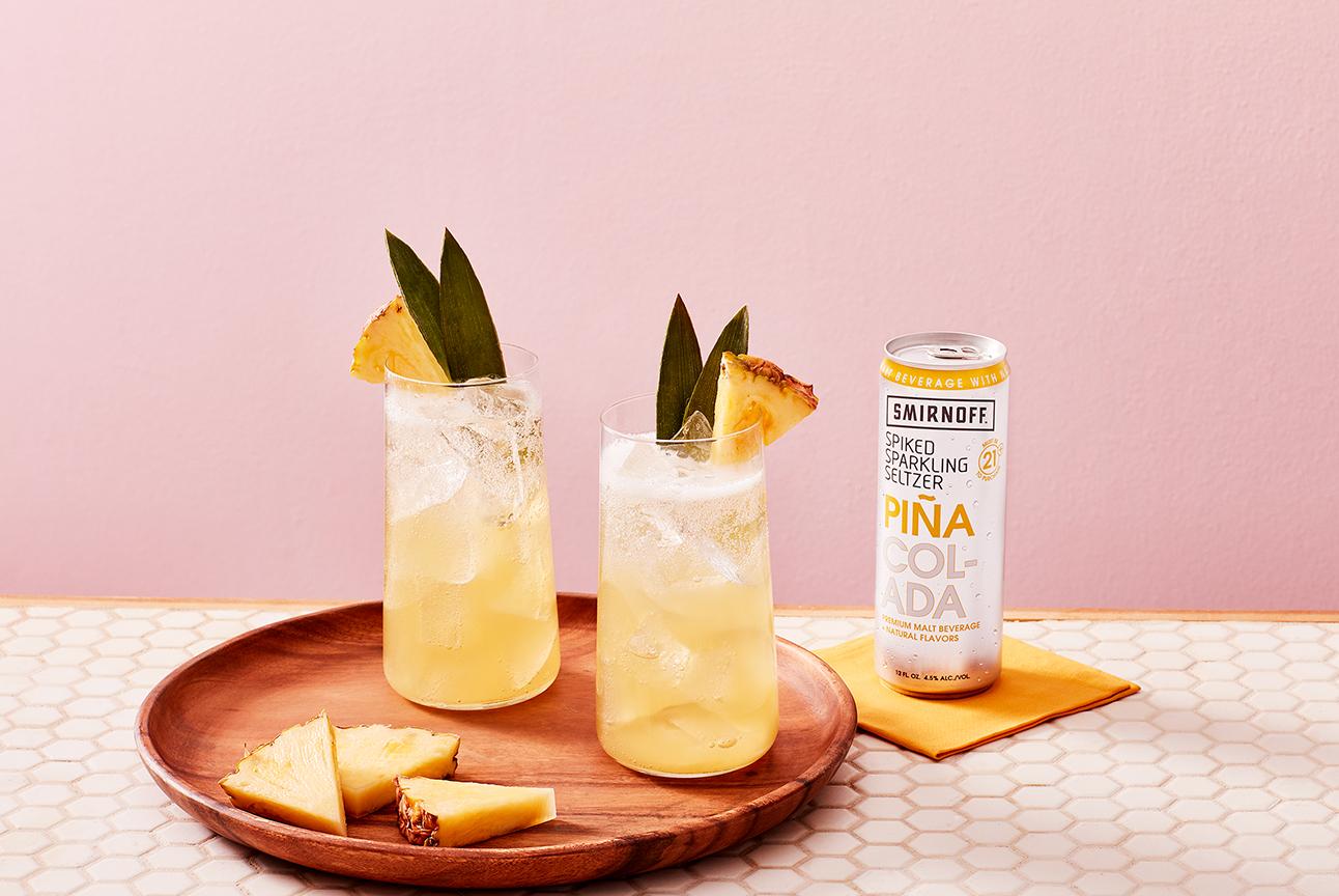 Smirnoff Seltzer Piña Coolada