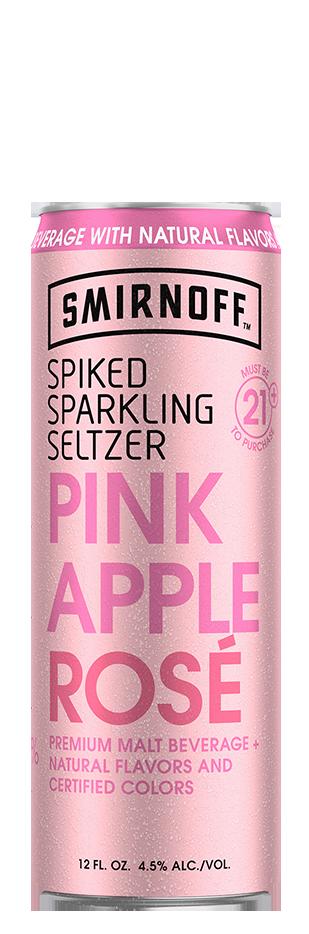 SMIRNOFF SELTZER PINK APPLE ROSÉ