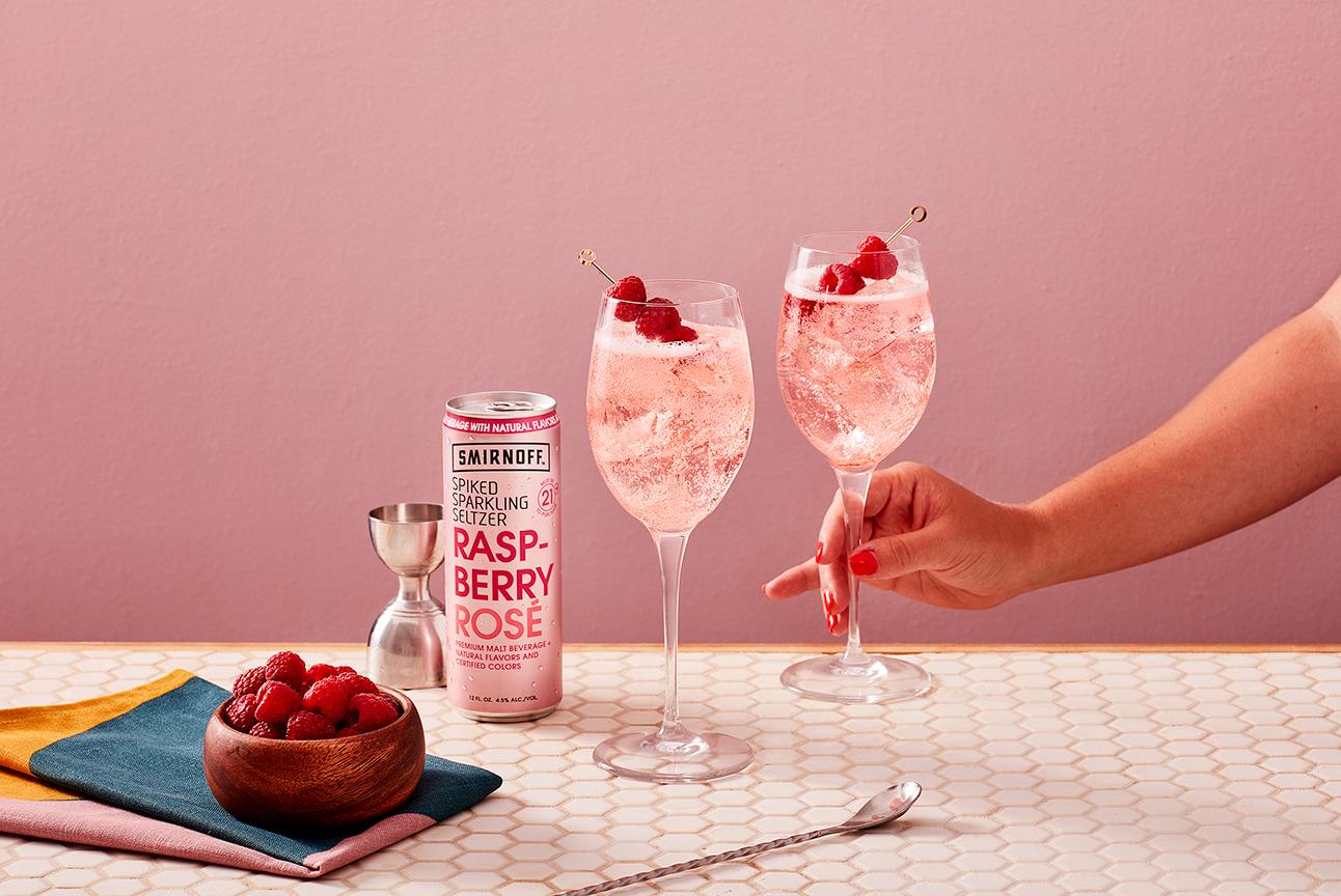 Smirnoff Seltzer Roséberry