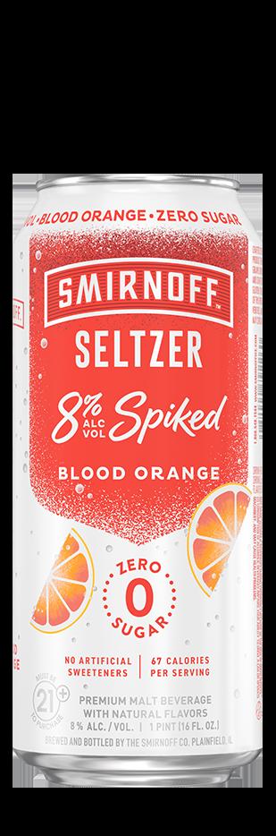Smirnoff 8% Spiked Seltzer Blood Orange
