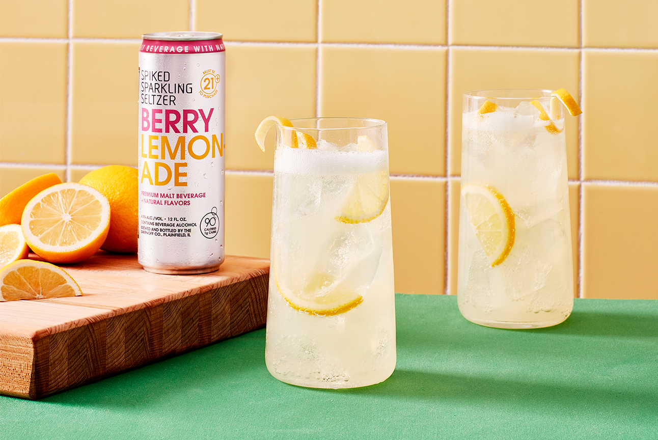 Smirnoff Seltzer Spiked Lemonade