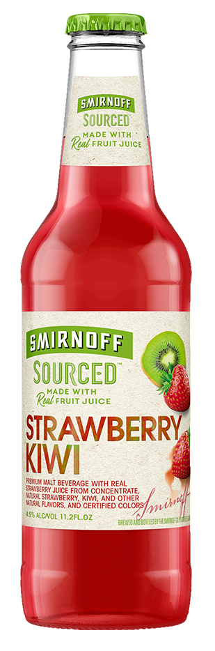 SMIRNOFF SOURCED STRAWBERRY KIWI