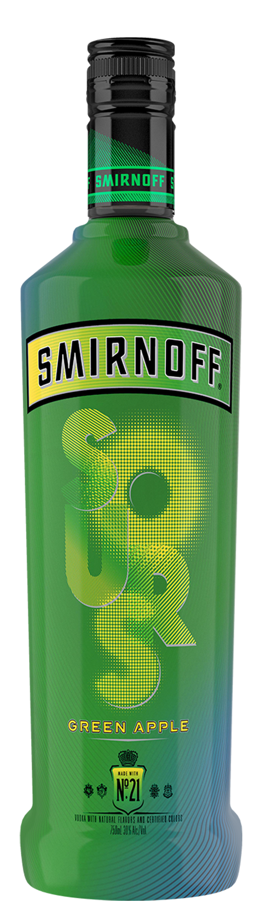 SMIRNOFF SOURS GREEN APPLE