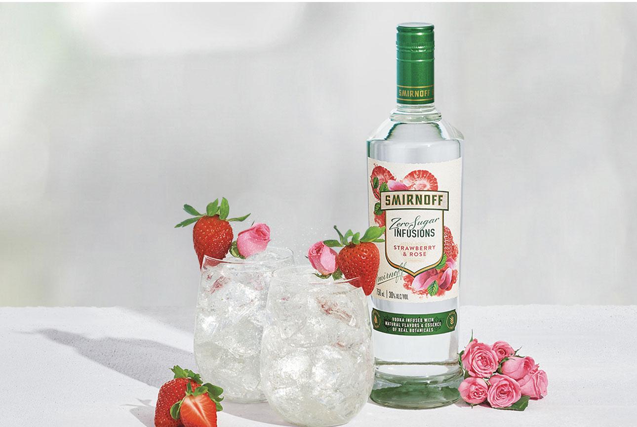 Zero Sugar & Soda - Strawberry & Rose