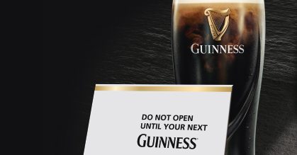 Draw a lucky GUINNESS