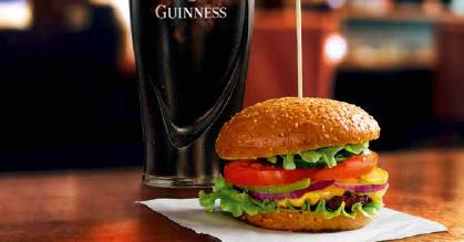 Guinness & Burger